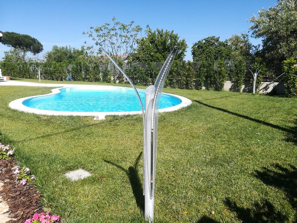 Sistemare Giardino Di Casa illuminazione per giardino: guida con idee, consigli, prezzi