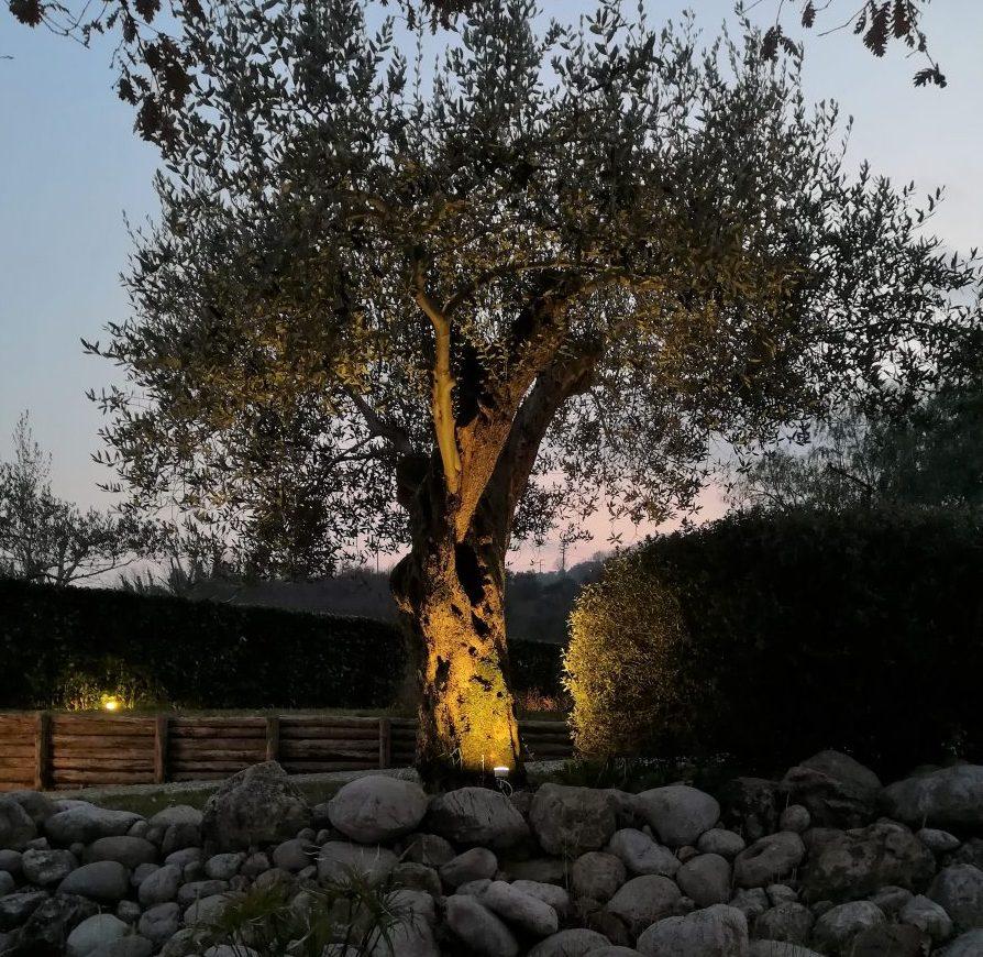 Guida ai faretti led da giardino con picchetto esedralab for Illuminazione da giardino a led