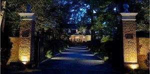Illuminazione Viale Villa